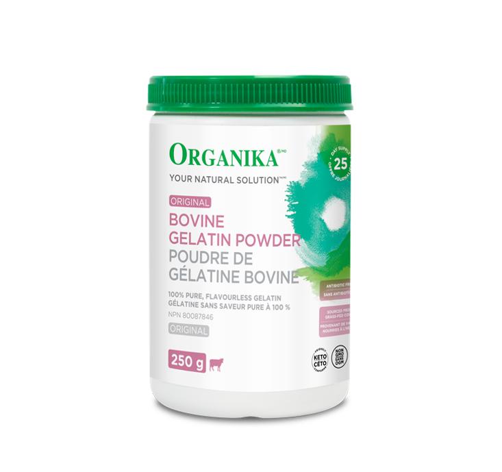 Organika Bovine Gelatin Powder 250g
