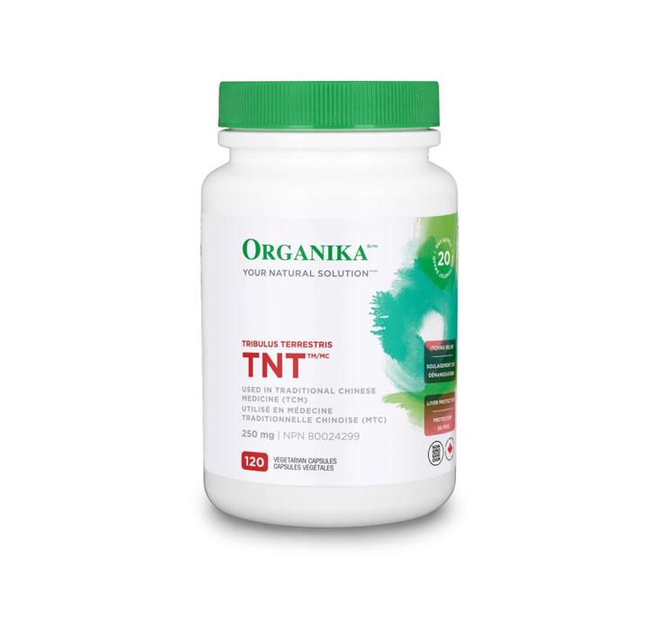 Organika Tribulus Terrestris (TNT) 120Vcaps