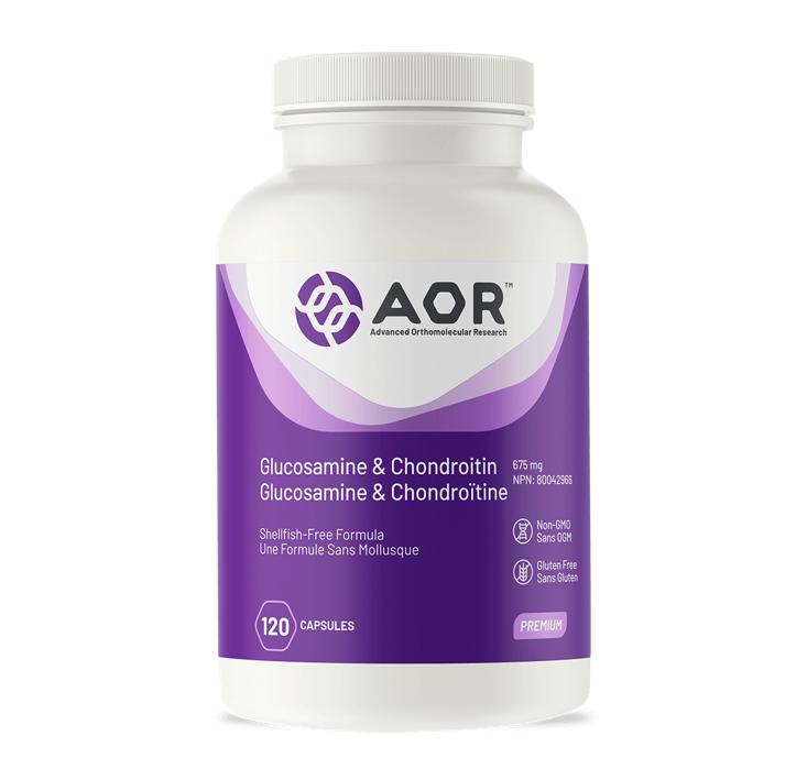 AOR Glucosamine & Chondroitin 120capsules