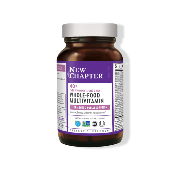 New Chapter Every Woman One Daily 40+ 72 Capsules