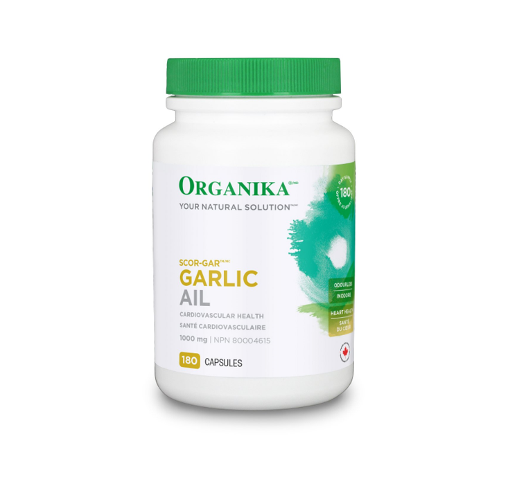Organika Scor-Gar Garlic 180Caps