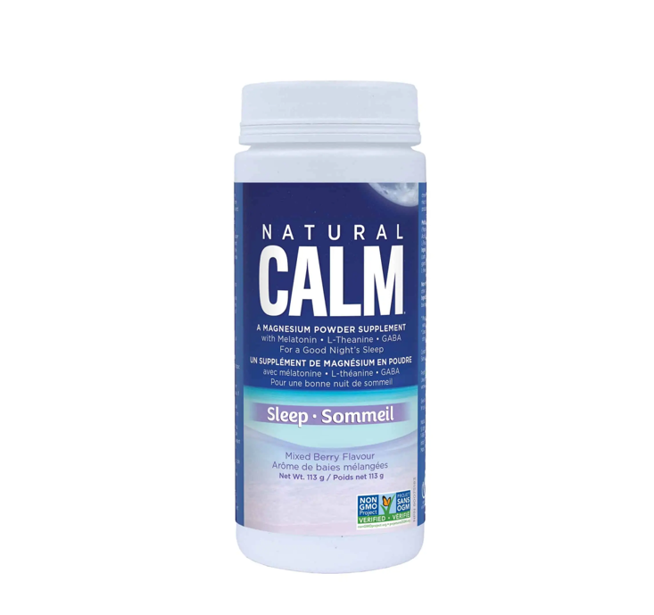 Natural Calm Magnesium Citrate Powder - Sleep 113g